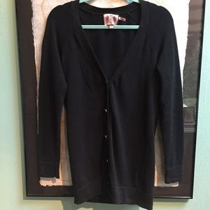 Juicy Couture Black Cardigan Sweater S